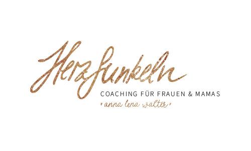 Coaching für Frauen und Mamas, Herzfunkeln, Logodesign, Soulful Logo